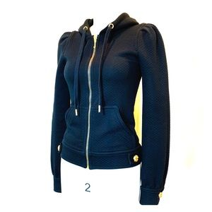 Juicy Couture Quilted Jacket in Black
